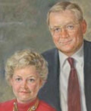 Christine Warner Powell and John L. Warner profile picture